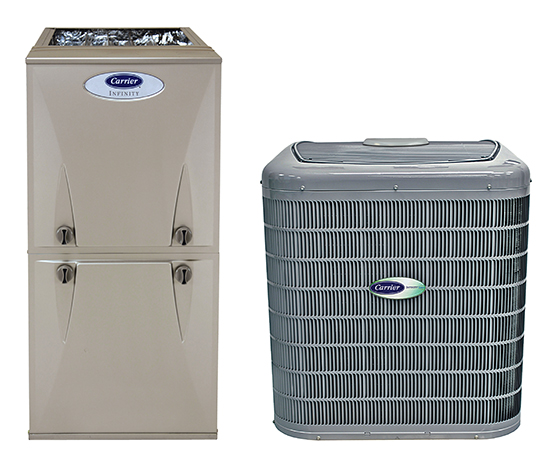 Carrier 95 afue 13 seer ac
